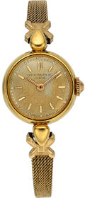 Timepieces:Wristwatch, Patek Philippe, Lady's 18k Gold Wristwatch, circa 1945. ...