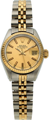 Rolex, Lady's Two Tone Oyster Perpetual Date, circa 1980