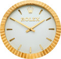 Timepieces:Wristwatch, Rolex, Official Retailer Wall Clock, Manufactured by Inducta, Circa 2000. ...