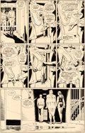 Original Comic Art:Panel Pages, Dave Gibbons Watchmen #8 Story Page 20 Rorschach and Nite Owl Original Art (DC, 1987)....