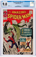 Silver Age (1956-1969):Superhero, The Amazing Spider-Man #2 (Marvel, 1963) CGC VF/NM 9.0 Off-white to white pages....