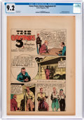 Platinum Age (1897-1937):Miscellaneous, Funny Picture Stories Supplement #11 (Comics Magazine, 1937) CGC NM- 9.2 Off-white to white pages....