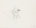 Animation Art:Production Drawing, Brave Little Tailor Mickey Mouse Animation Drawing (Walt Disney, 1938).. ...