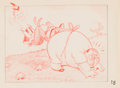 Animation Art:Production Drawing, Mother Goose Goes Hollywood Laurel and Hardy Storyboard Animation Drawing (Walt Disney, 1938).