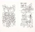 Animation Art:Production Drawing, Happy Birthday Mickey Hand-Inked Book Artwork Group of 11 (Walt Disney, c. 1980-90s).. ... (Total: 11 Original Art)