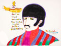 "Animation Art:Production Drawing, Yellow Submarine The Beatles ""Ringo"" Hand-Painted Original Illustration (United Artists/King Features/Ron Campbell..."