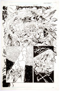 Original Comic Art:Panel Pages, Jerry Ordway and Will Blyberg Maximum Security #1 Story Page 25 Original Art (Marvel, 2000)....