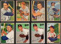 Baseball Cards:Lots, 1952 Bowman Baseball Collection (211) - Includes Stars & Hall of Famers....
