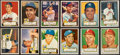 Baseball Cards:Lots, 1952 Topps Baseball Collection (128) - Includes Stars & Hall of Famers....