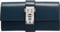 "Luxury Accessories:Bags, Hermès 23cm Blue Sapphire Calf Box Leather Medor Clutch with Palladium Hardware. R Square, 2014. Condition: 3. 9"" ..."