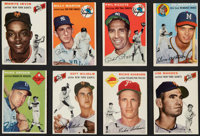 1954 Topps Baseball Collection (82) - Includes Stars & Hall of Famers