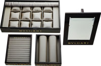 Bvlgari Flagship Boutique Watch & Jewelry four Piece Display Set ... (Total: 4 Items)