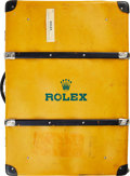 "Timepieces:Wristwatch, Rolex, Exceedingly Rare Rolex USA ""Swiss Traveling Display"" Suitcase and partial Oyster ""50th Anniversary Display"" with Docum..."