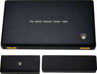 "Rolex, Exceedingly Rare and Complete ""The World Famous Oyster Case"" Training Display Circa 1980, Accompanied b..."