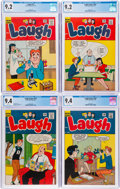 Silver Age (1956-1969):Humor, Laugh Comics CGC-Graded, Highest-Graded Copies Group of 8 (Archie, 1963-65).... (Total: 8 Comic Books)