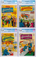 Silver Age (1956-1969):Superhero, Adventure Comics CGC-Graded Group of 8 (DC, 1956-59).... (Total: 8 Comic Books)