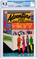 Silver Age (1956-1969):Superhero, Adventure Comics #346 (DC, 1966) CGC NM- 9.2 White pages....