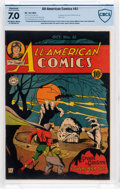 Golden Age (1938-1955):Superhero, All-American Comics #61 (DC, 1944) CBCS Restored FN/VF 7.0 Moderate (P) Off-white to white pages....