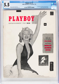 Playboy #1 (HMH Publishing, 1953) CGC FN- 5.5 Off-white to white pages