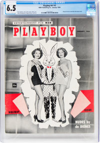 Playboy #2 (HMH Publishing, 1954) CGC FN+ 6.5 Off-white to white pages