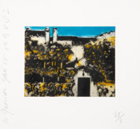 Donald K. Sultan (b. 1951) La Querida, 1994 Aquatint in colors on wove paper 12 x 13 inches (30.5 x 33 cm) (sheet) A