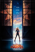 "Movie Posters:Action, Captain Marvel (Walt Disney Studios, 2019). Rolled, Very Fine-. One Sheet (27"" X 40"") DS, Advance. Action.. ..."