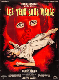 Eyes Without a Face (Lux Compagnie Cinématographique de France, 1960). Folded, Very Fine. Full-Bleed French Grand...