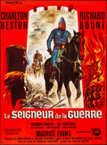 "Movie Posters:War, The War Lord (Universal International, 1965). Folded, Very Fine+. French Grande (45.5"" X 61.5""). Guy Gerard Noel Artwork. Wa..."