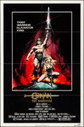 "Movie Posters:Action, Conan the Barbarian (Universal, 1982). Folded, Very Fine. One Sheet (27"" X 41""). Renato Casaro Artwork. Action.. ..."