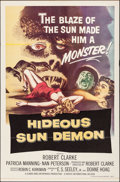 "Movie Posters:Science Fiction, Hideous Sun Demon (Pacific International, 1959). Folded, Very Fine. One Sheet (27"" X 41""). Science Fiction.. ..."