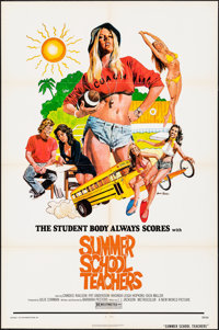 """Summer School Teachers & Other Lot (New World, 1975). Folded, Overall: Very Fine-. One Sheets (2) (27"""" X 41&quo..."""