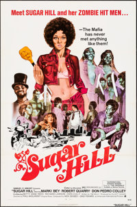"Sugar Hill & Other Lot (American International, 1974). Folded, Fine/Very Fine. One Sheets (4) (27"" X 41"")..."