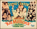 "Movie Posters:Musical, Kid Millions (United Artist, 1934). Fine/Very Fine. Title Lobby Card (11"" X 14""). Musical.. ..."
