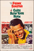 """Movie Posters:Comedy, Come Blow Your Horn (Paramount, 1963). Folded, Very Fine-. One Sheet (27"""" X 41"""") & Lobby Card Set of 8 (11"""" X 14""""). Comedy.... (Total: 9 Items)"""