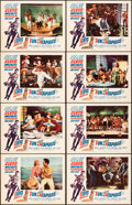 """Movie Posters:Elvis Presley, Fun in Acapulco (Paramount, 1963). Overall: Very Fine. Lobby Card Set of 8 (11"""" X 14""""). Elvis Presley.. ... (Total: 8 Items)"""