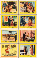 """La Parisienne (United Artists, 1958). Overall: Very Fine-. Lobby Card Set of 8 (11"""" X 14""""). Foreign. ... (Tota..."""