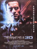 """Movie Posters:Science Fiction, Terminator 2: Judgment Day (StudioCanal, R-2017). Rolled, Fine+. Indian One Sheet (29"""" X 38.5"""") 3-D Style. Science Fiction...."""