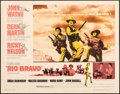 "Movie Posters:Western, Rio Bravo (Warner Brothers, 1959). Rolled, Fine/Very Fine. Half Sheet (22"" X 28""). Western.. ..."