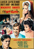 """Movie Posters:Foreign, Famous Love Affairs (Cinevogue Films, 1961). Folded, Fine/Very Fine. Italian Foglio (27"""" X 34""""). Foreign.. ..."""