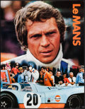 """Movie Posters:Sports, Le Mans (Cinema Center, 1971). Rolled, Very Fine. Gulf Promotional Poster (17"""" X 22""""). Sports.. ..."""