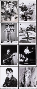 """Movie Posters:Elvis Presley, Roustabout (Paramount, 1964). Very Fine-. Photos (8) (8"""" X 10""""). Elvis Presley.. ... (Total: 8 Items)"""