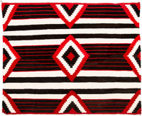 A Navajo Third Phase Chief's Style Rug