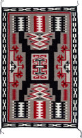 American Indian Art:Weavings, A Contemporary Navajo Regional Rug...