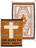 American Indian Art:Weavings, Two Navajo Regional Rugs... (Total: 2 )