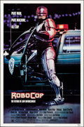 "Movie Posters:Action, RoboCop (Orion, 1987). Folded, Near Mint. One Sheet (27"" X 41""). Mike Bryan Artwork. Action.. ..."