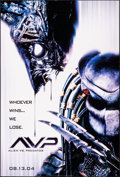 """Movie Posters:Science Fiction, Alien vs. Predator & Other Lot (20th Century Fox, 2004). Rolled, Very Fine. One Sheets (2) (27"""" X 40"""" & 27"""" X 41"""") DS, Style... (Total: 2 Items)"""