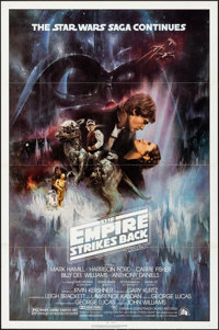 """The Empire Strikes Back (20th Century Fox, 1980). Flat Folded, Very Fine+. One Sheet (27"""" X 41"""") Style A, Roge..."""