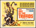 """Movie Posters:Science Fiction, The Day of the Triffids (Allied Artists, 1962). Folded, Fine/Very Fine. Half Sheet (22"""" X 28""""). Joseph Smith Artwork. Scienc..."""