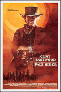 """Movie Posters:Western, Pale Rider (Warner Brothers, 1985). Folded, Very Fine-. International One Sheet (27"""" X 41""""). Dave Grove Artwork. Western.. ..."""