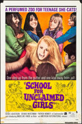 "Movie Posters:Bad Girl, School for Unclaimed Girls & Other Lot (American International, 1973). Folded, Overall: Fine+. One Sheets (2) (27"" X 41""). B... (Total: 2 Items)"